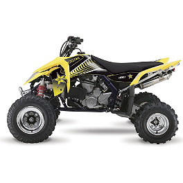 2013 Factory Effex Rockstar ATV Graphics Kit - Suzuki - Yoshimura RS-5 Comp Series Slip-On Exhaust