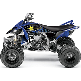 2013 Factory Effex Rockstar ATV Graphics Kit - Yamaha - 2010 Yamaha RAPTOR 700 Factory Effex All-Grip ATV Seat Cover