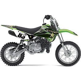 2013 Factory Effex Rockstar Graphics - Kawasaki - 2006 Kawasaki KLX110 Factory Effex DX1 Backgrounds Pro - Kawasaki