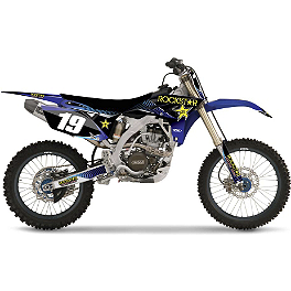 2013 Factory Effex Rockstar Graphics - Yamaha - 2008 Yamaha YZ250F Factory Effex All-Grip Seat Cover