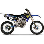 2013 Factory Effex Rockstar Graphics - Yamaha - Dirt Bike Plastics and Plastic Kits