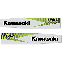 2013 Factory Effex Swingarm Decal - Kawasaki - 2009 Kawasaki KX250F Factory Effex FP1 Factory Pleated Gripper Seat Cover - Kawasaki