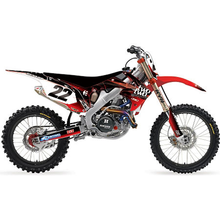2013 Factory Effex Two Two Complete Graphic Kit - Honda - Main