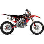 2013 Factory Effex Two Two Complete Graphic Kit - Honda - VORTEX-ATV-2 Vortex ATV Dirt Bike