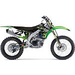 2013 Factory Effex Two Two Complete Graphic Kit - Kawasaki - NEW-RAY-TOYS-ATV-2 New Ray Toys ATV Dirt Bike
