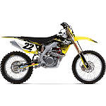 2013 Factory Effex Two Two Complete Graphic Kit - Suzuki - NEW-RAY-TOYS-ATV-2 New Ray Toys ATV Dirt Bike