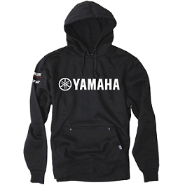 Factory Effex Yamaha Team Hoody - One Industries Yamaha Stripes Hooded Fleece Jacket