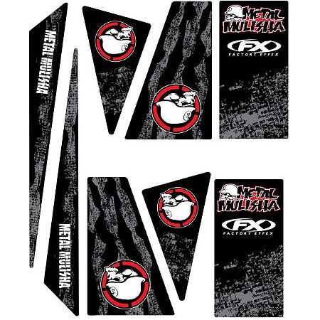 Factory Effex Universal Quad Trim Decals - Metal Mulisha - Main