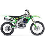 2014 Factory Effex EVO 11 Graphics - Kawasaki - Kawasaki KX100 Dirt Bike Body Parts and Accessories