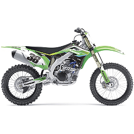 2014 Factory Effex EVO 11 Graphics - Kawasaki - 1991 Kawasaki KX500 Factory Effex All-Grip Seat Cover