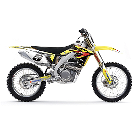 2014 Factory Effex EVO 11 Graphics - Suzuki - 2010 Suzuki RMZ450 Factory Effex All-Grip Seat Cover
