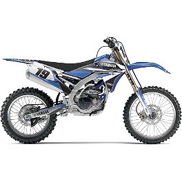 2014 Factory Effex EVO 11 Graphics - Yamaha - 2011 Yamaha YZ450F Factory Effex All-Grip Seat Cover