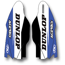 2014 Factory Effex Fork Guard Graphics - Yamaha - 2007 Yamaha YZ125 Factory Effex FP1 Seat Cover - Black