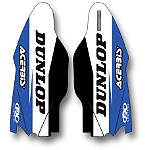 2014 Factory Effex Fork Guard Graphics - Yamaha - Motocross Graphics & Dirt Bike Graphics