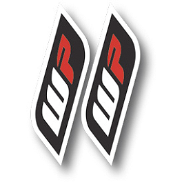 2014 Factory Effex Generic Fork / Swingarm Stickers - WP Suspension - Factory Effex Honda Stripe Beanie