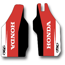 2014 Factory Effex OEM Lower Fork Graphics - Honda - 2005 Honda CR250 Factory Effex All-Grip Seat Cover