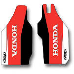 2014 Factory Effex OEM Lower Fork Graphics - Honda - Dirt Bike Trim Decals