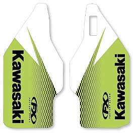 2014 Factory Effex OEM Lower Fork Graphics - Kawasaki - 2014 Kawasaki KX85 Factory Effex DX1 Backgrounds Pro - Kawasaki