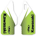 2014 Factory Effex OEM Lower Fork Graphics - Kawasaki - Kawasaki KX100 Dirt Bike Graphics