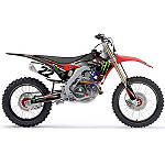 2014 Factory Effex Monster Energy Graphics - Honda - Dirt Bike Graphic Kits