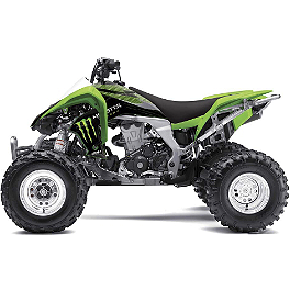 2014 Factory Effex Monster Energy ATV Graphics - Kawasaki - 2011 Kawasaki KFX450R Factory Effex All-Grip ATV Seat Cover