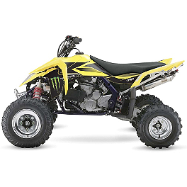2014 Factory Effex Monster Energy ATV Graphics - Suzuki - 2013 Factory Effex Metal Mulisha ATV Graphics Kit - Suzuki