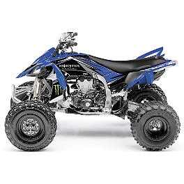 2014 Factory Effex Monster Energy ATV Graphics - Yamaha - 2012 Yamaha YFZ450R Factory Effex All-Grip ATV Seat Cover