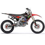 2014 Factory Effex Monster Energy Complete Shroud / Trim Kit - Honda - Factory Effex Graphic Kits