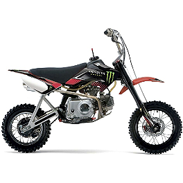 2014 Factory Effex Monster Energy Graphics Kit - CRF50 - 2013 Factory Effex Rockstar Graphics Kit - CRF50
