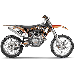 2014 Factory Effex Metal Mulisha Graphics - KTM - 2005 KTM 450SX 2012 N-Style Ultra Graphics Kit - KTM