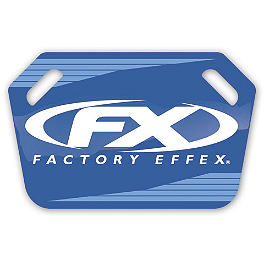 Factory Effex Pit Board - 2013 Factory Effex Rear Fender Decal - KTM