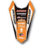 2014 Factory Effex Rear Fender Decal - KTM -  Dirt Bike Body Kits, Parts & Accessories