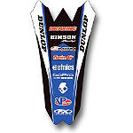 2014 Factory Effex Rear Fender Decal - Yamaha - Dirt Bike Trim Decals