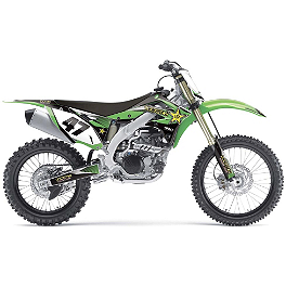 2014 Factory Effex Rockstar Graphics - Kawasaki - 2013 Kawasaki KX450F 2013 Factory Effex Rear Fender Decal - Kawasaki