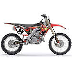 2014 Factory Effex Rockstar Complete Shroud / Trim Kit - Honda - Factory Effex Dirt Bike Parts