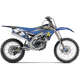 2014 Factory Effex Rockstar Complete Shroud / Trim Kit - Yamaha - 2007 Yamaha YZ250 2013 Factory Effex Two Complete Graphic Kit - Yamaha