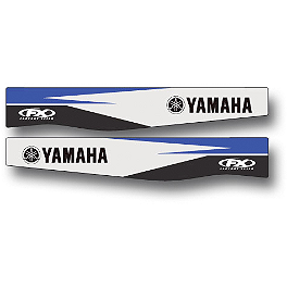 2014 Factory Effex Swingarm Decal - Yamaha - 2013 Yamaha YZ250F Factory Effex All-Grip Seat Cover