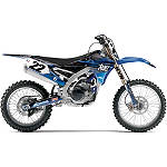 2014 Factory Effex Two Two Shroud / Trim Kit - Yamaha - Dirt Bike Trim Decals