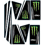 Factory Effex Universal Quad Trim Decals - Monster Energy - Factory Effex ATV Body Parts and Accessories