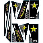 Factory Effex Universal Quad Trim Decals - Rockstar -  ATV Body Parts and Accessories