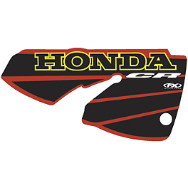 Factory Effex OEM Graphics 01 Honda - 2001 Honda CR125 Factory Effex DX1 Backgrounds Standard - Honda