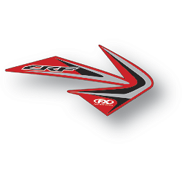 Factory Effex OEM Graphics 12 Honda - 2013 Honda CRF250R Factory Effex TC-4 Seat Cover With Bump - Honda