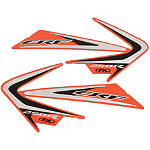 Factory Effex OEM Tank / Shroud Graphics - Honda - Factory Effex Dirt Bike Parts