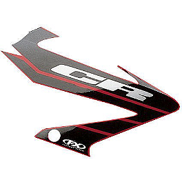 Factory Effex OEM Graphics 04 Honda - 2003 Honda CRF450R Factory Effex All-Grip Seat Cover