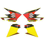 Factory Effex OEM Graphics 05 Suzuki -  Dirt Bike Body Kits, Parts & Accessories