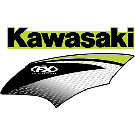 Factory Effex OEM Graphics 07 Kawasaki - 2008 Kawasaki KX250F Factory Effex DX1 Backgrounds Pro - Kawasaki