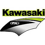 Factory Effex OEM Graphics 07 Kawasaki - Dirt Bike Graphic Kits
