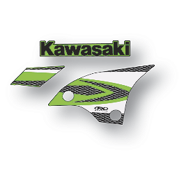 Factory Effex OEM Graphics 08 Kawasaki - 2006 Kawasaki KX450F Factory Effex DX1 Backgrounds Pro - Kawasaki