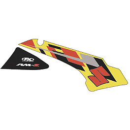 Factory Effex OEM Tank / Shroud Graphics - Suzuki - 2011 Suzuki RMZ450 Factory Effex All-Grip Seat Cover