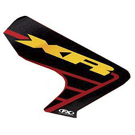 Factory Effex OEM Graphics 02 Honda - 2001 Honda XR250R UFO Rear Fender With Light 02+ - Red